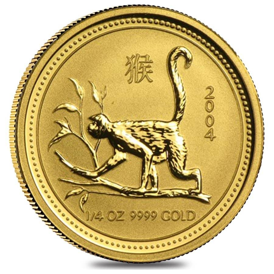 Lunar Year Of The Monkey Gold Coins