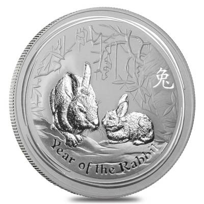Lunar Year Of The Rabbit Silver Coins