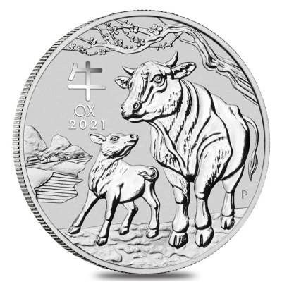 Lunar Year Of The Ox Silver Coins