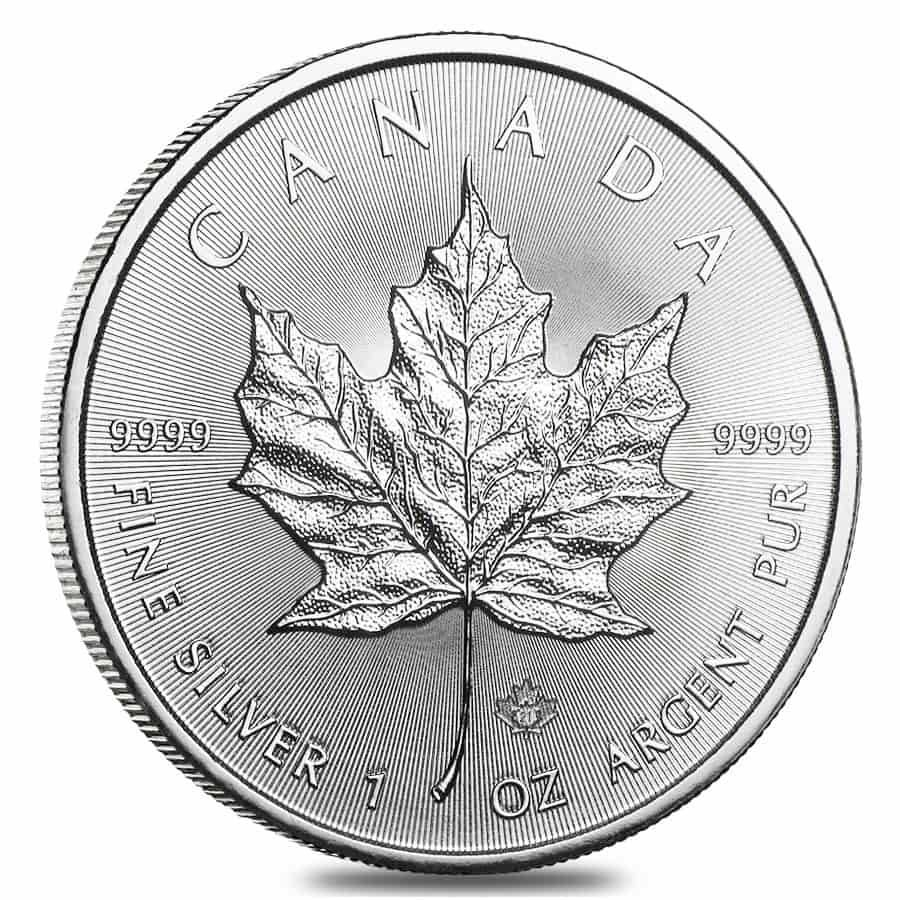 2021 Silver Maple Leaf Coins