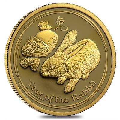 Lunar Year Of The Rabbit Gold Coins