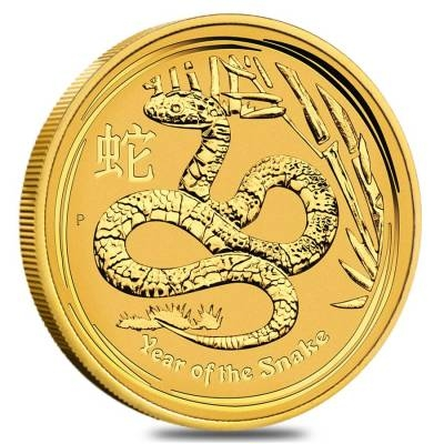 Lunar Year Of The Snake Gold Coins
