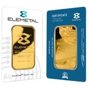 Elemetal Mint Gold Bars