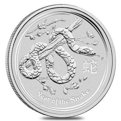 Lunar Year Of The Snake Silver Coins