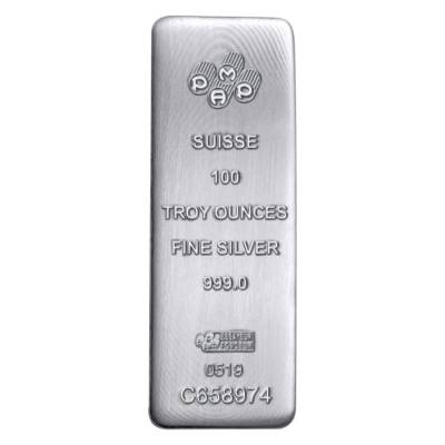 PAMP Suisse Cast Silver Bars