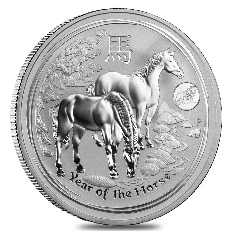 Lunar Year Of The Horse Silver Coins
