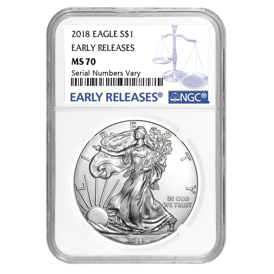 Certified Silver Eagles