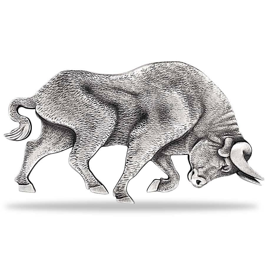 Bull and Bear Shaped Coins