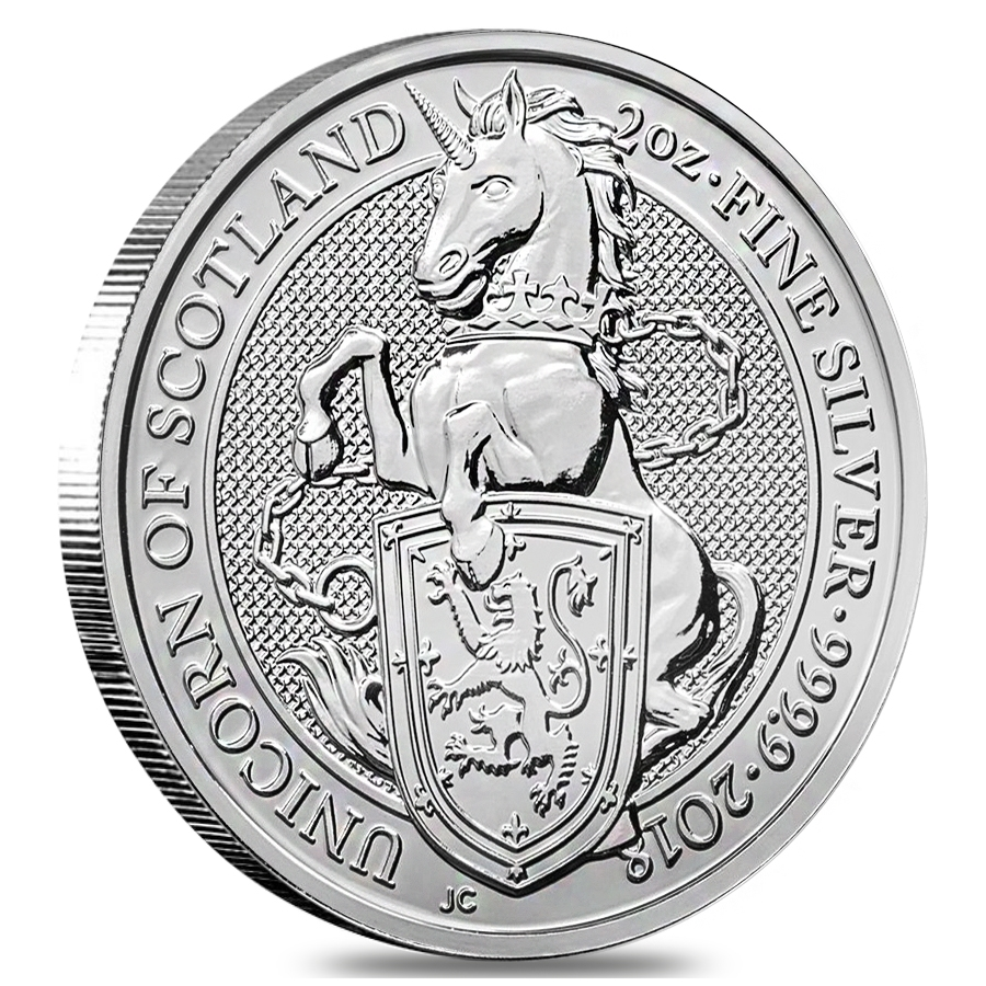 The Queen's Beasts Silver Coins
