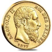 Belgian Gold Coins