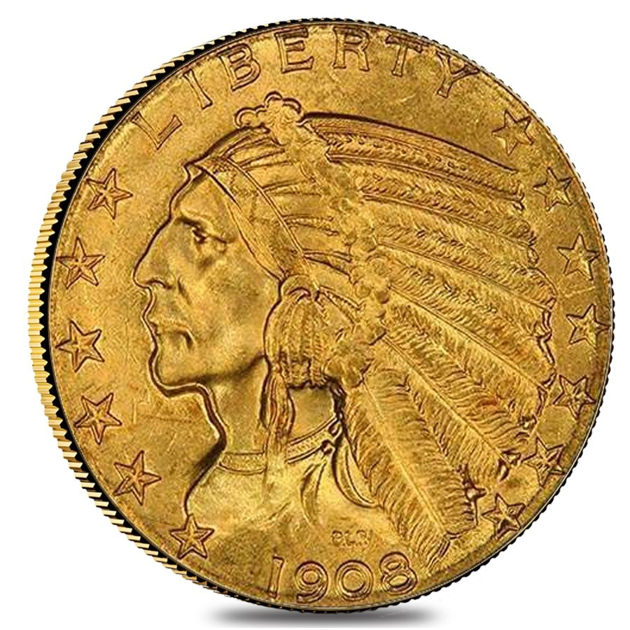 Gold Indian Head Coins