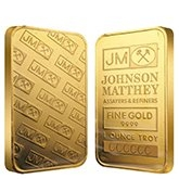 Johnson Matthey / Engelhard Gold Bars