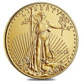 Burnished Gold Eagles Coins