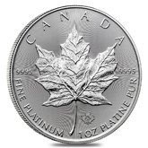 Royal Canadian Mint Platinum Coins