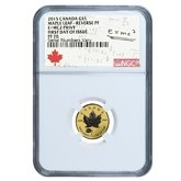 Certified Maple Leaf Gold Coins