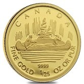 Gold Canadian Commemorative Coins