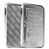 Credit Suisse Silver Bars