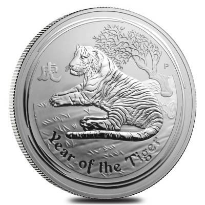 Lunar Year Of The Tiger Silver Coins