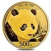 Chinese Mint Gold Coins