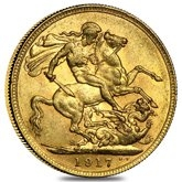Gold Australian Sovereigns