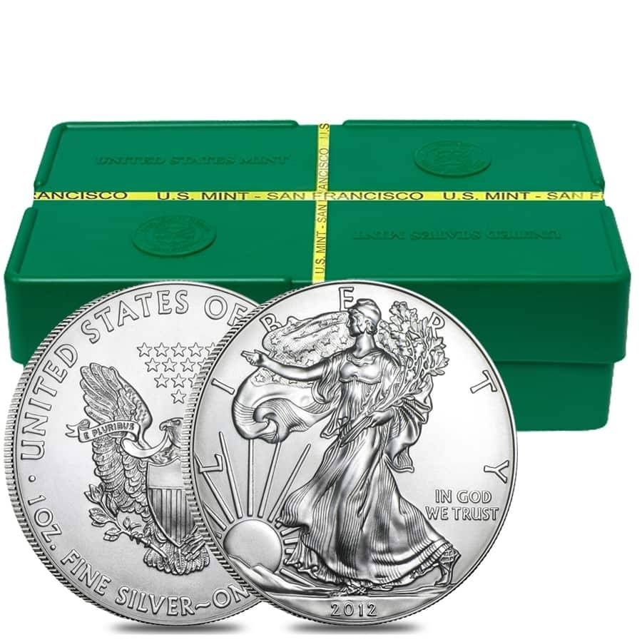 American Silver Eagle Monster Boxes