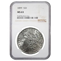 Certified Silver Morgans