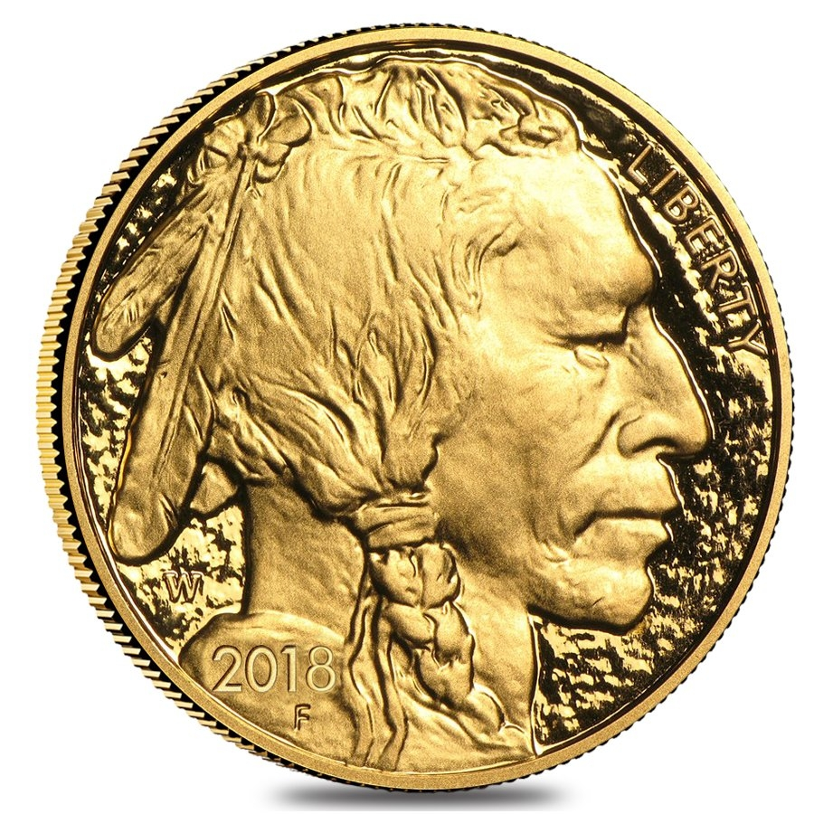 Proof Gold American Buffalo Coins