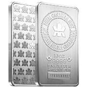 RCM (Royal Canadian) Silver Bars