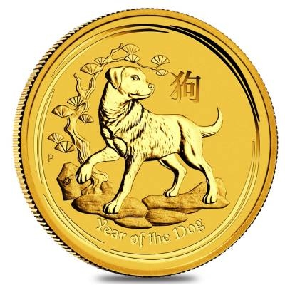 Lunar Year Of The Dog Gold Coins