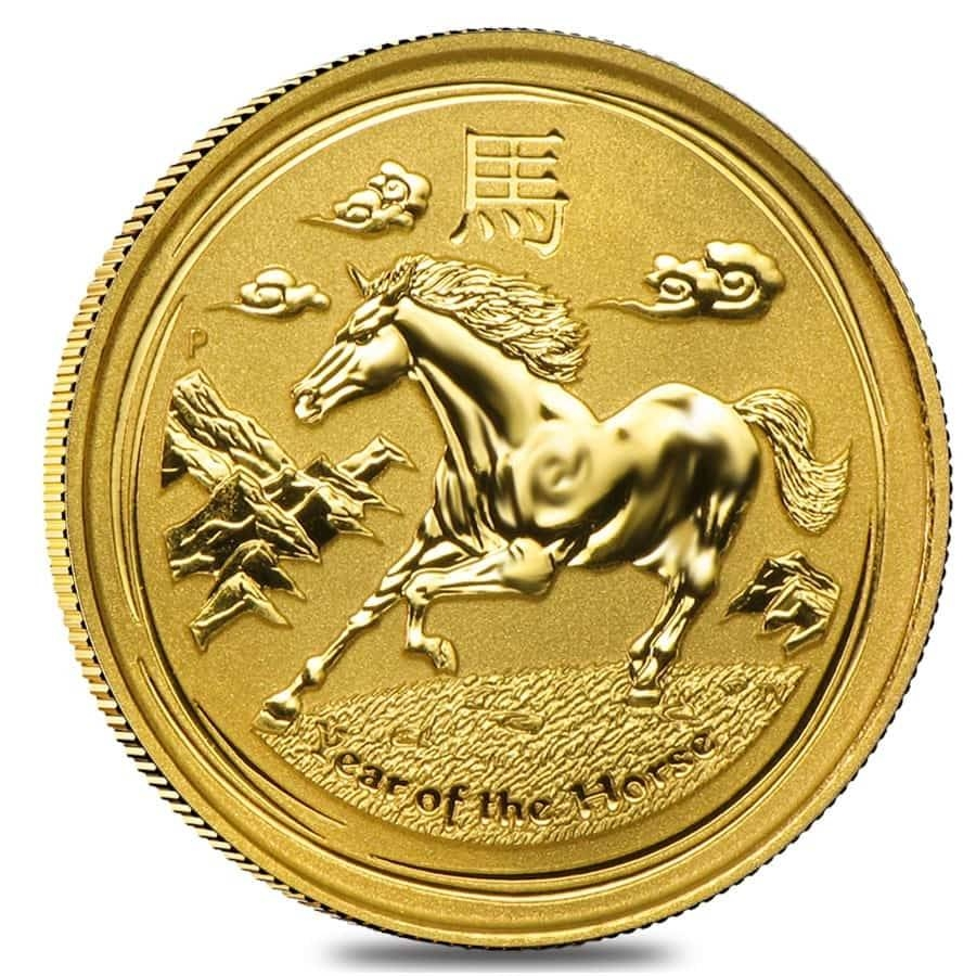 Lunar Year Of The Horse Gold Coins