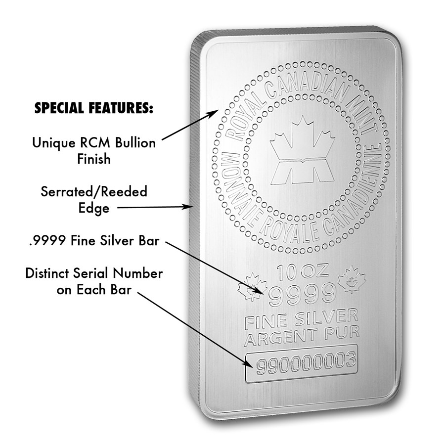 10 Oz Silver Bar Case