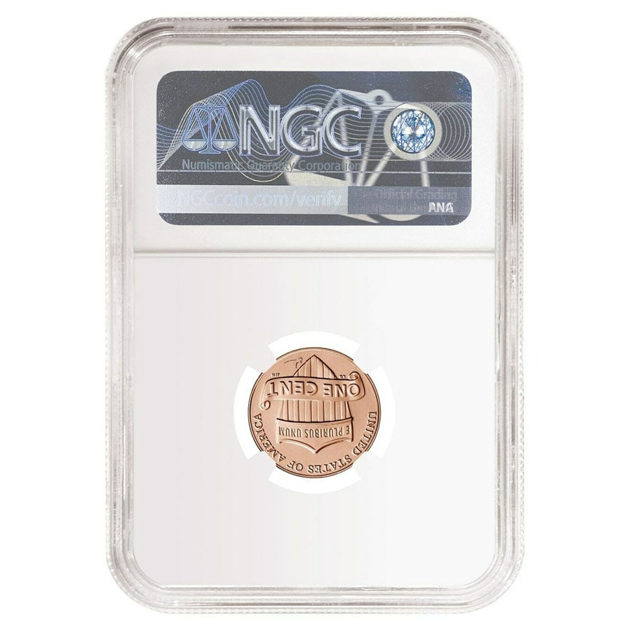 2019 W Reverse Proof Lincoln Penny Cent Comm NGC PF 69 ER