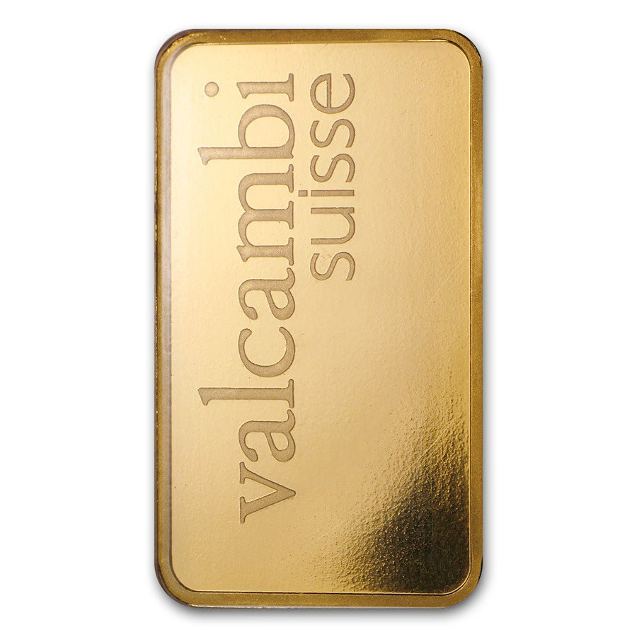 1 Oz Gold Bar Valcambi Suisse 9999 Fine In Assay Ebay