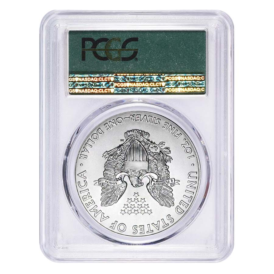 2017 1 Oz Silver American Eagle 1 Coin Pcgs Ms 70 First