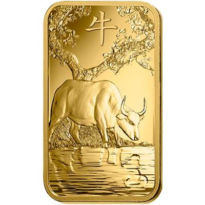 100 gram PAMP Suisse Year of the Ox Gold Bar (In Assay)