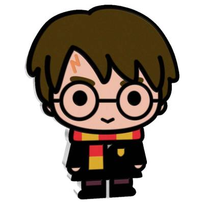 2020 1 oz Colorized Silver Harry Potter - Niue Chibi Coin Collection $2 Coin .999 Fine (w/Box & COA)