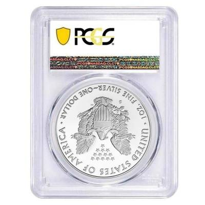 2020-S 1 oz Proof Silver American Eagle PCGS PF 69 DCAM First Strike (SF Label)