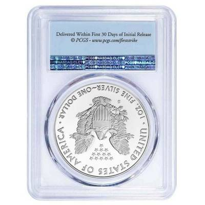 2020-S 1 oz Proof Silver American Eagle PCGS PF 69 DCAM First Strike