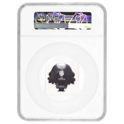 2020 1 oz Colorized Silver Harry Potter - Hermione Granger - Niue Chibi Coin Collection NGC PF 69 UCAM ER