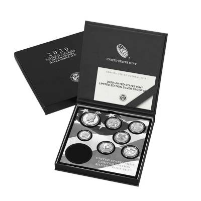 2020 S 1 oz Proof Silver American Eagle Limited Edition PCGS PF 69 FS (w/ US Mint Proof Silver Set)