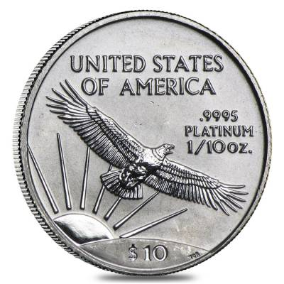 1/10 oz Platinum American Eagle (Random Year)