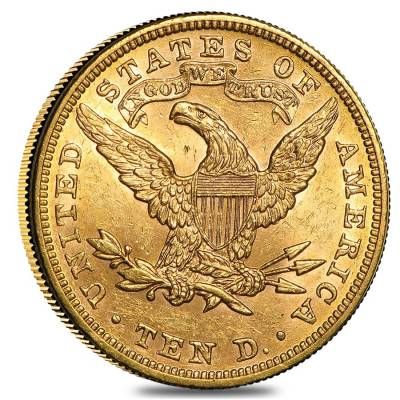 $10 Gold Eagle Liberty Head - Brilliant Uncirculated BU (Random Year)
