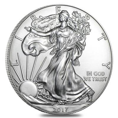 2017 1 oz Silver American Eagle $1 Coin NGC MS 70 Early Releases