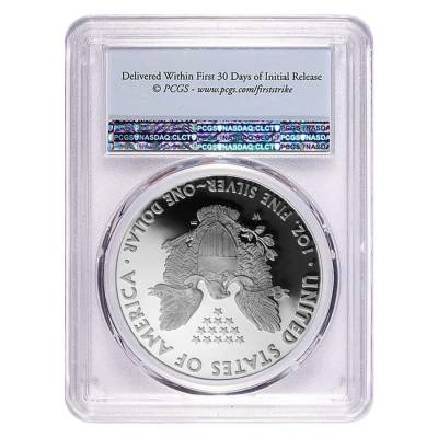 2020-W 1 oz Proof Silver American Eagle PCGS PF 69 DCAM First Strike