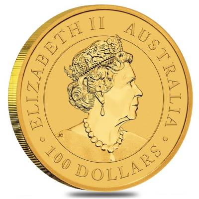 2020 1 oz Australian Gold Kangaroo Perth Mint Coin .9999 Fine BU In Cap