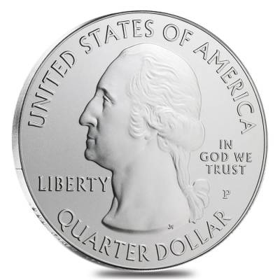 2011-P 5 oz Silver America the Beautiful ATB Montana Glacier Uncirculated Coin In Cap