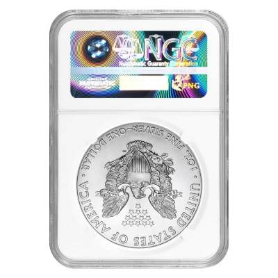 2020 (P) 1 oz Silver American Eagle NGC MS 69 Emergency Production