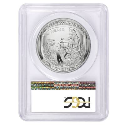2019 P Apollo 11 50th Anniversary Proof Silver Dollar Comm. PCGS PF 70 FS