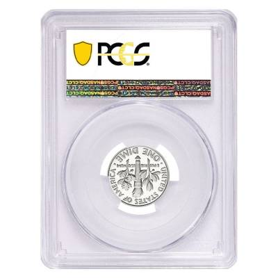 2019 S Proof Silver Roosevelt Dime First .999 Fine Silver PCGS PF 70 FDOI