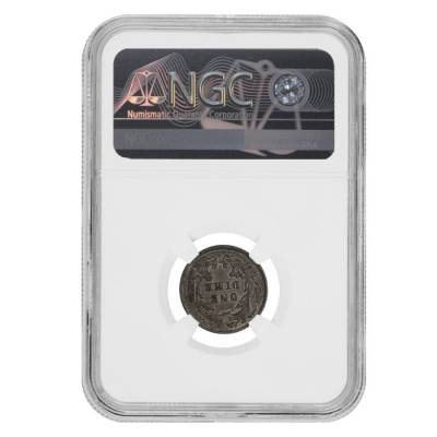 1860-O Seated Liberty Dime 90% Silver NGC AU 58